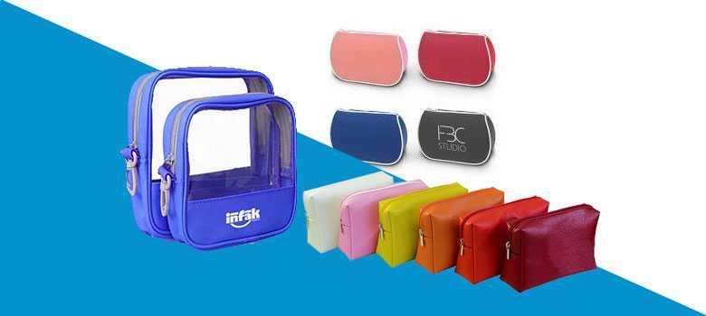 promosyon özel baskılı makyaj çantası